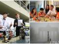 День в фото: школьники-исследователи в Киеве, туман в Берлине и принц Уильям во Вьетнаме