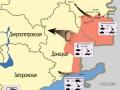 Появилась схема ударных группировок российско-террористических войск