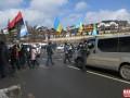 Бизнесмены блокируют дорогу на Буковель, требуя закрыть курорт на карантин