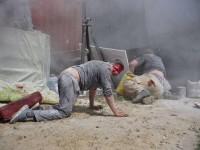 В Киеве до крови дрались Нацкорпус и охранники стройки