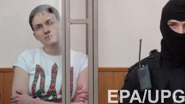 Савченко просит задать Путину вопрос о дате ее возвращения в Украину