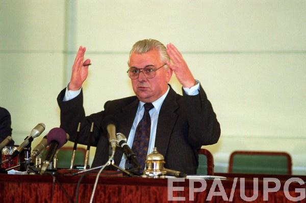 Первый президент Украины и глава трехсторонней контактной группы по Донбассу Леонид Кравчук