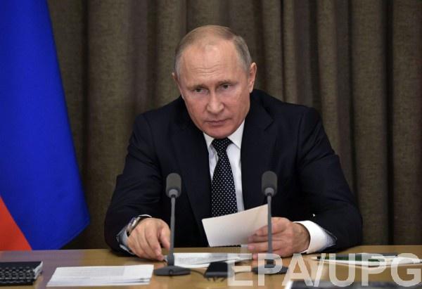 Путин традиционно возложил всю вину на власти Украины