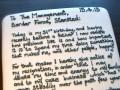 Съешь это! Мужчина написал заявление об увольнении на торте (ФОТО)