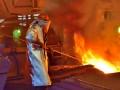 Выплавка стали в Украине за год упала почти на 13%
