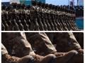 Парад в Астане: казахский спецназ в украинских берцах