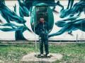 Португальский художник нарисовал мурал в Чернобыле