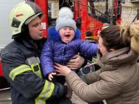 В Киеве горела высотка, эвакуировали 12 человек