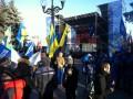 На митинге перед Радой в поддержку власти выступил Попов
