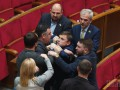 Депутаты подрались в Раде перед уходом на каникулы