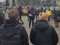 В Ужгороде предприниматели митингуют против усиления карантина