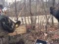 Журналист показал видео из Донбасса с