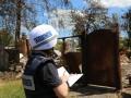 В наблюдателей ОБСЕ бросил молоток пьяный боевик ДНР