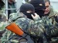 Вооруженные представители ДНР блокируют воинскую часть в Донецке