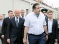 Саакашвили в тельняшке и ветераны Динамо: в Одессе празднуют день ВМС Украины