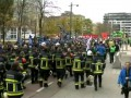 В Брюсселе тысячи членов профсоюзов вышли на демонстрации