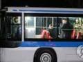 Ким Чен Ын покатался по ночному Пхеньяну на троллейбусе