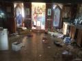 В Одессе разгромили храм на Западном кладбище