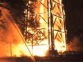 В Германии огонь уничтожил 43-метровую башню Гете