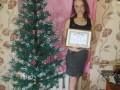 Тернополянка сделала из бисера рекордную елку