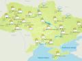 Погода на 14 января: в Украине дожди со снегом и тепло