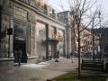 В центре Киева горит магазин