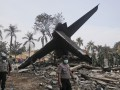Полиция сообщает о 140 жертвах крушения самолета в Индонезии