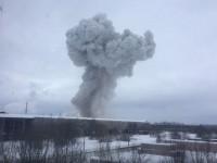 В России прогремел мощный взрыв на химзаводе
