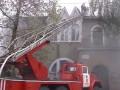 В Херсоне горит кондитерская фабрика