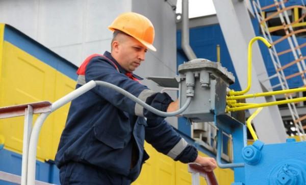 Украина использовала половину запасов газа