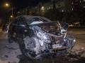 В Киеве автомобиль Kia протаранил три машины
