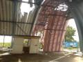 Появилось видео разрушений на КПП Должанский после обстрела