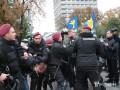 Под Радой произошла драка между националистами и полицией