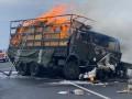 В Хмельницкой области столкнулись военный грузовик и легковушка, две жертвы