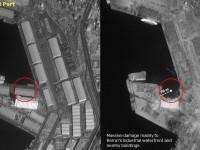 Последствия взрыва в Бейруте показали на спутниковых фото