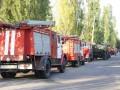 В Запорожье на Хортице ликвидировали лесной пожар
