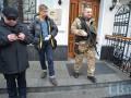 Новинского удерживают автоматчики, Оппозиционный блок негодует
