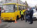 Арестован водитель маршрутки, сбивший двух человек в Киеве