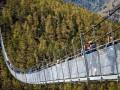 В Швейцарии открыли самый длинный в мире подвесной пешеходный мост
