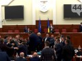 В Киевсовете произошла драка из-за предложения выгнать Кличко