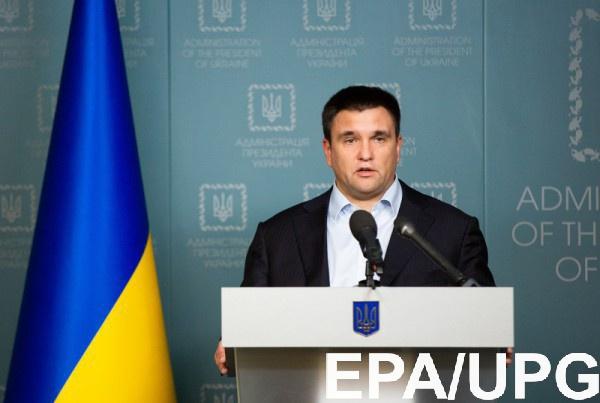 Климкин не исключает введение визового режима с РФ, но только биометрического