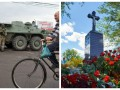 День в фото: БТРы в Мукачево и памятный знак Кузьме