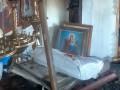 В Полтавской области сгорел храм ПЦУ