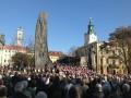 Во Львове 4,5 тыс. человек вместе молились за проведение честных выборов