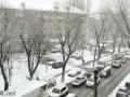 Киев в пробках - зима снова нагрянула неожиданно