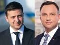 Зеленский позвал президента Польши в гости, Дуда согласился