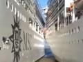 В Аргентине два круизных лайнера столкнулись в порту