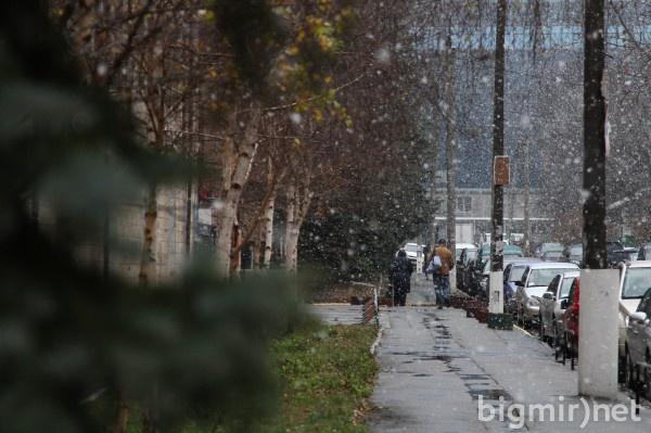 В Украине ожидается снег