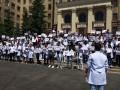В Харькове протестуют иностранные студенты