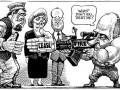 Американский журнал в карикатуре перепутал Порошенко с Лукашенко